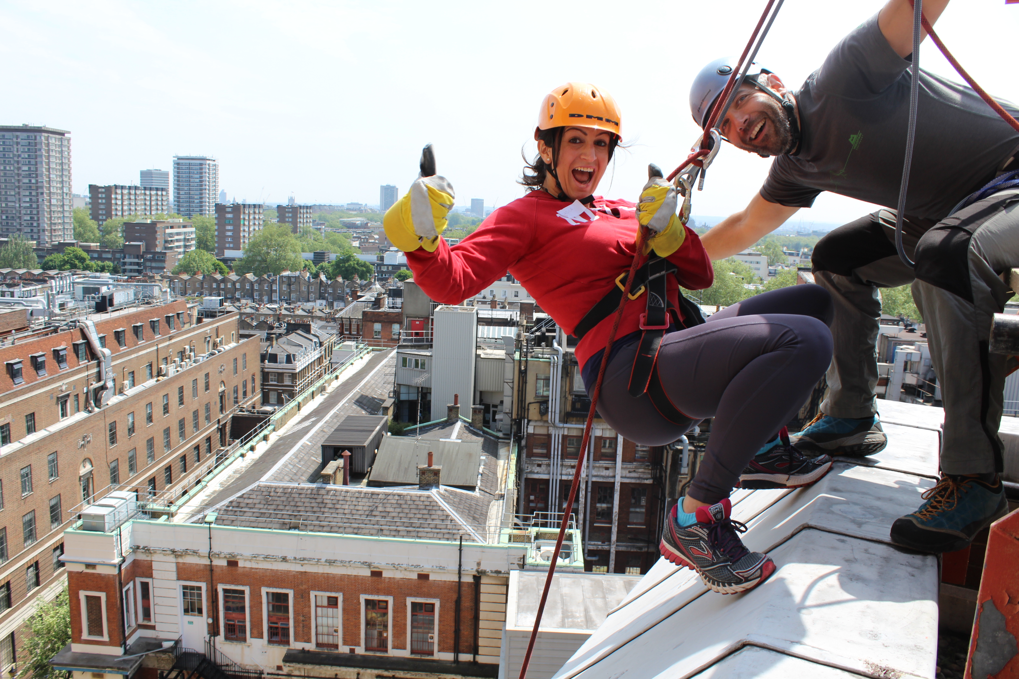 More Smiles Abseil 2017
